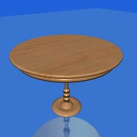 3ds max kitchen table