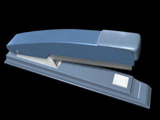 3d staple stapler model