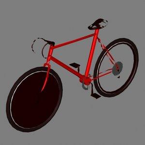 3d bike racing model