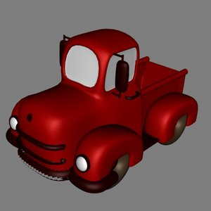 3dsmax truck