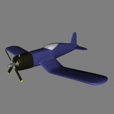 3d fighter plane