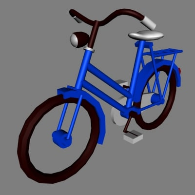 bike old dxf
