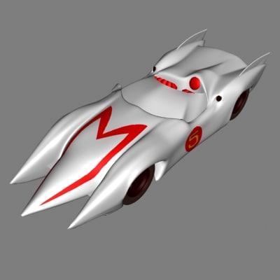 cartoon car dxf