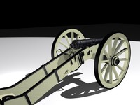 3ds max cannon american