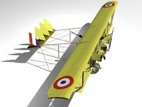 3ds wwi bomber