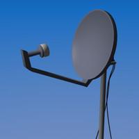 satellite dish lwo