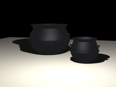 cauldrons 3d 3ds