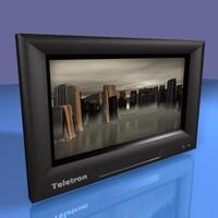 flat screen television max