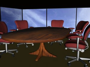 free max model conference room