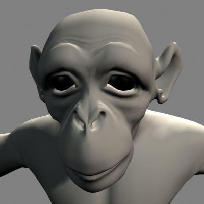monkey lightwave 3d lwo