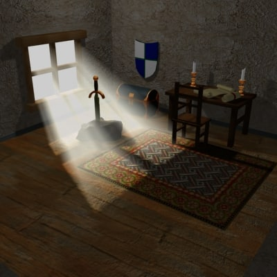 medieval room max