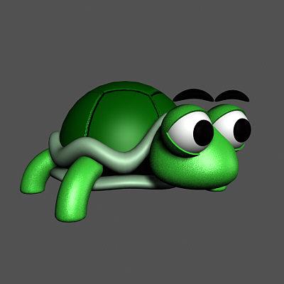 turlte turtleshell 3d model
