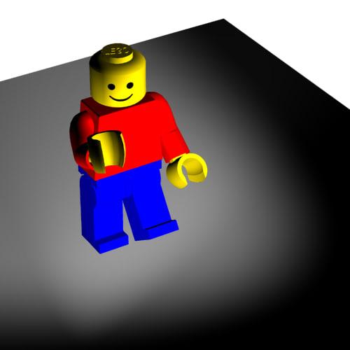 lego man 3d 3ds