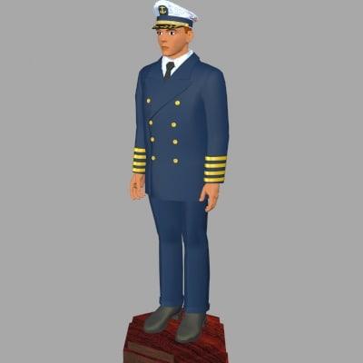ship captains 3ds