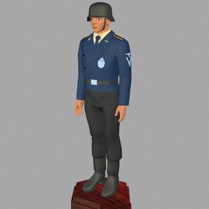 3ds max world war german