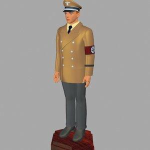 3d model world war german