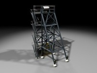 3ds max mining tower