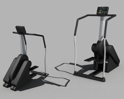 step machine 3d model