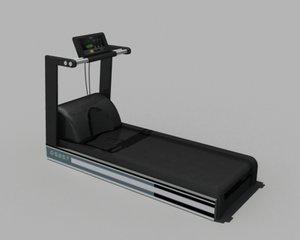 precor treadmill 3d model