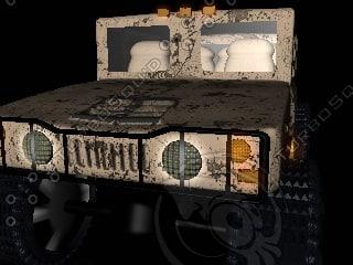car hummer 3d model
