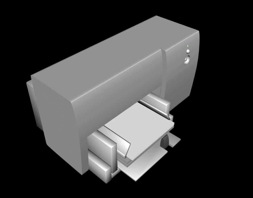 free max model printer