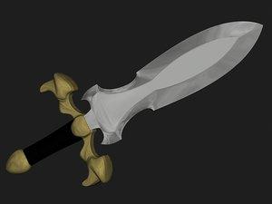 3d short sword