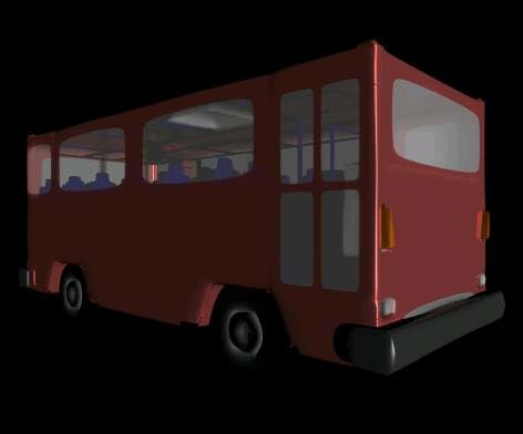 bus 3d 3ds