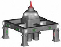 3d space building structure