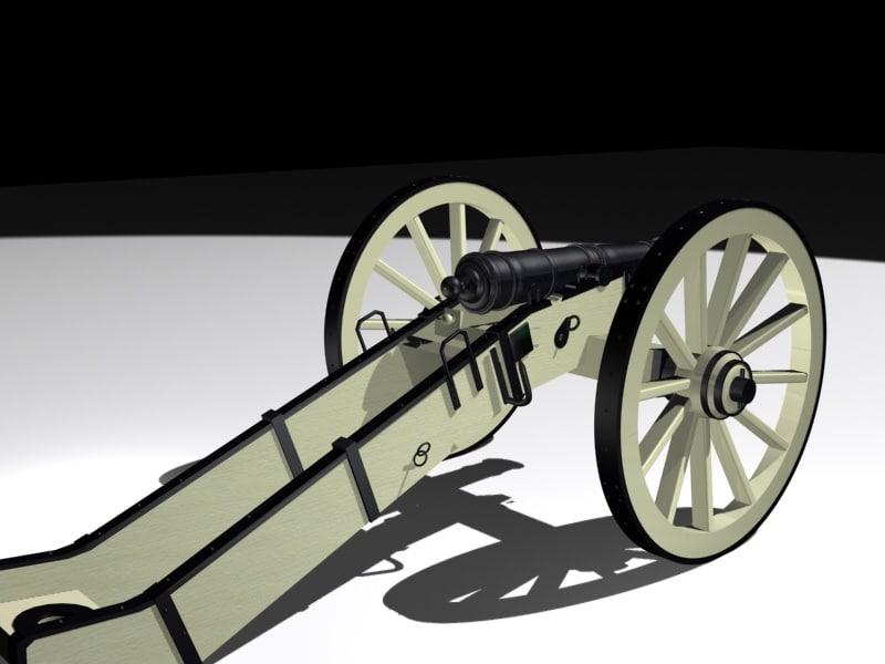 3d model artillery