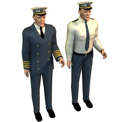 conforming uniforms poser p4 3d model