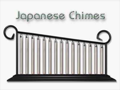 japanese chimes 3d lwo