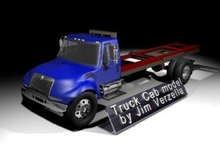 new truck cab 3d model