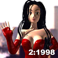manga babes 1 2 3d model