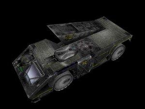 mindcrawler vehicle 3d ma