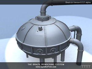 free machine 3d model