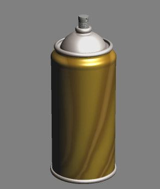 3ds spray bottle