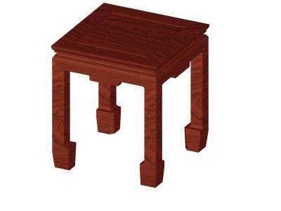 chinese table 3d 3ds
