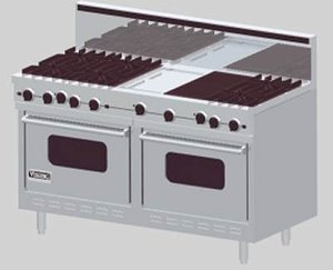 3ds viking gas range