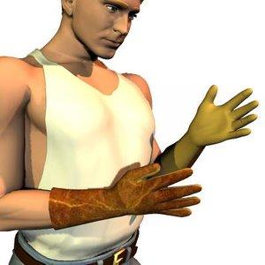 free pz3 mode conforming gloves poser
