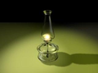 kerosene lamp 3d max