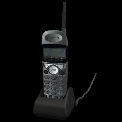 3d lwo cordless phone