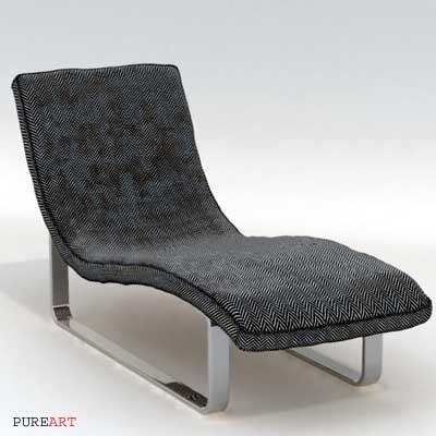 3d chaise lounge kasimira model
