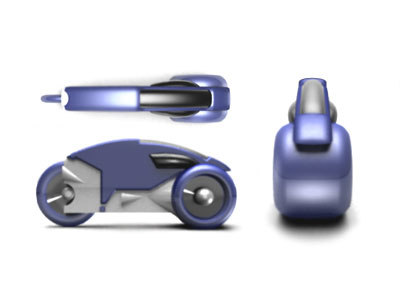 lightcycle tron 3d model