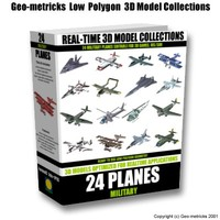 3d 3ds 24 military planes aircraft