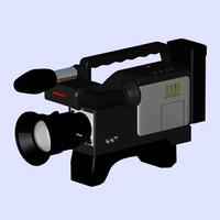 3d model camcorder cameras eng