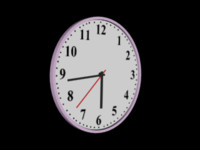 Clock - Animated