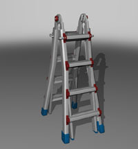 x little ladder
