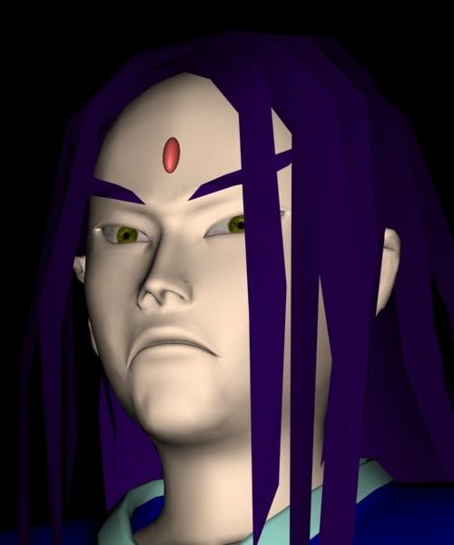 maya character human