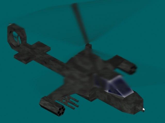 free fly 3d model