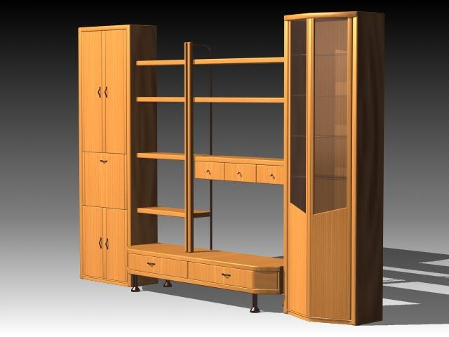 3d furniture cabinet